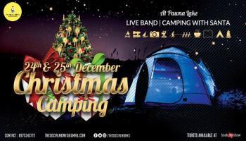 Christmas Camping Lakeside at Pawna