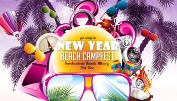 New Year Beach Campfest