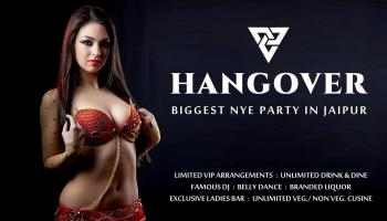 Hangover-Biggest New Year Party in Jaipur