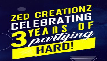 Zed Creationz Celebrating 3 years with Rohit Bulgannawar