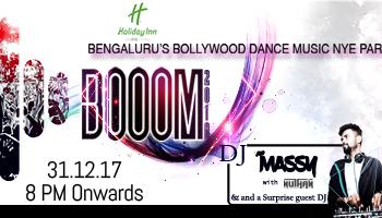 BOOOM Bengaluru Bollywood Dance Music NYE Party