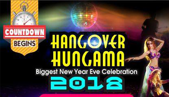 Club One Hangover Hungama - Largest New Year Celebration Of 2018