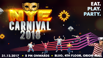 Smaaash NYE Carnival 2018 - Orion Mall