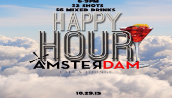 Amsterdam Happy Hours  Gentlemans Night