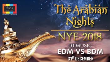 The Arabian Nights NYE 2018
