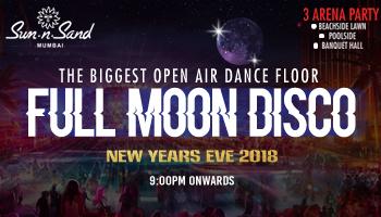 Full Moon Disco New Year Party 2018