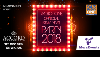 Radio One Official - New Year Party at The Accord Metropolitan