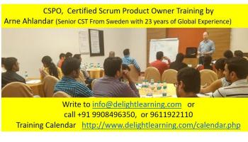 Certified Scrum Product Owner (CSPO) Workshop by Arne Ahlander | Gurgaon | 07-08 May
