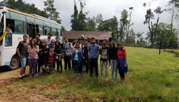 Tadiandamol trek coorg and dubare visit