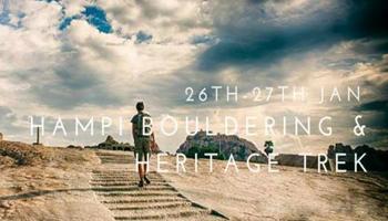 Hampi Bouldering Heritage trek