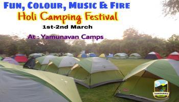 Holi Camping Festival