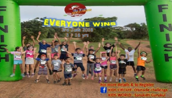 Kids circuit- Obstacle challenge for Kids -(3-16 yrs)
