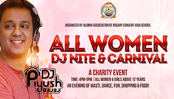 ALL-Women DJ Night and Carnival for Charity