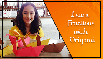 Learn Fractions with Origami