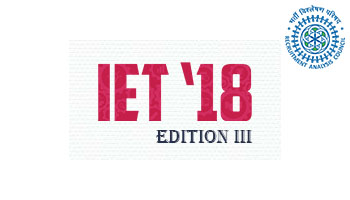 IET-18-INNOVATION OF ENGINEERING and TECHNOLOGY 2018 EDITION III