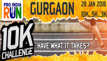 Pro India Run 10K Challenge- Gurugram