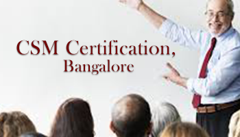 CSM Certification, Bangalore 27 January 2018