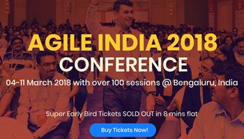 Agile India 2018 Conference