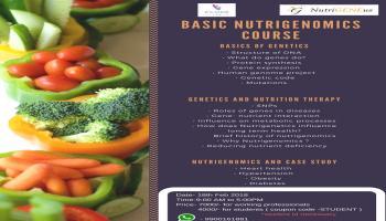 Basic Nutrigenomics course ( DNA based diets)
