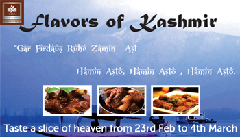 Kashmiri Food Festival at Qube Cafe