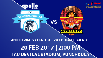 Hero I-League - Apollo Minerva Punjab FC vs Gokulam Kerala FC