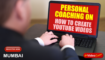 One Day Hands-on Personal Coaching On Creating YouTube Videos In Ahmedabad