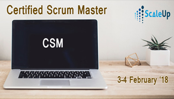 CSM Certification, Mumbai (March 2018)