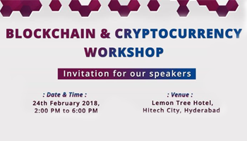Blockchain and  Cryptocurrency Masterclass in Hyderabad