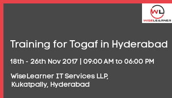 Training for Togaf in Hyderabad with best trainers