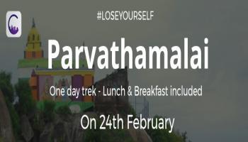 Parvathamalai Trek 1D