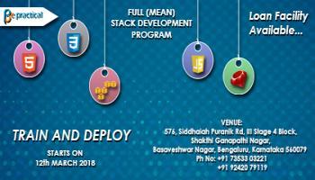 Full(MEAN)Stack development