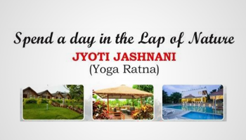 A Day in the Lap of Nature with Jyoti Jashnani - Yoga Ratna