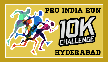 Pro India Run 10K Challenge- Hyderabad