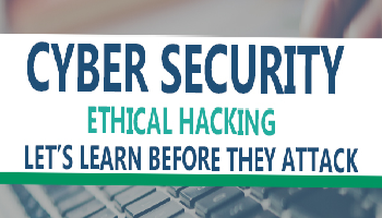 Cyber Security and Ethical Hacking Training New Batch Starts on Feb 26th 2018 Registration Closes on 26th Feb