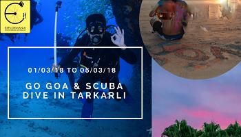 Go Goa and scuba dive