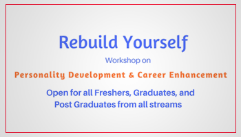 One Day Workshop - Rebuild YOURSELF
