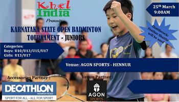 Karnataka State Open Badminton - Juniors2