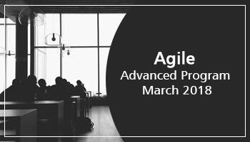 Agile Advanced Program - March 2018