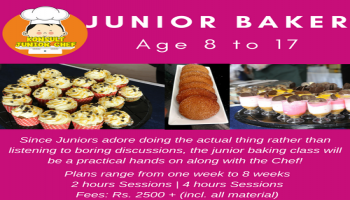 Junior Bakers- Summer Camp, Camp 1