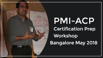 PMI-ACP Certification Prep Workshop Bangalore May 2018