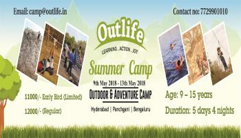 Summer Camp For Kids 2018 at Hyderabad and Panchgani