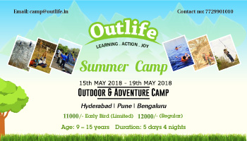 Summer Camp For Kids 2018 at Natventure Camp Panchgani