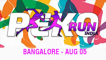 Peko run India (BANGALORE)