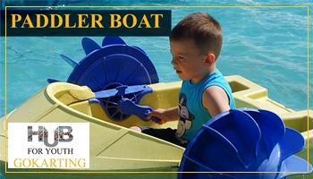 Paddler Boat at Hub For youth