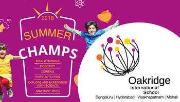 Summer Camp at Oakridge International School