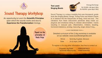 Singing Bowls Sound Therapy Workshop