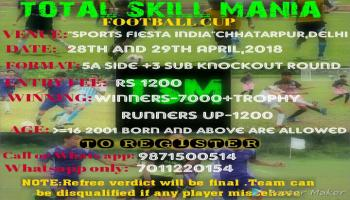 TSM UNDER-16 FOOTBALL TOURNAMENT