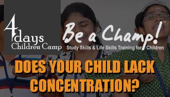 Be a Champ - 4 Days Children Camp