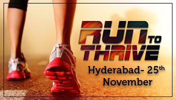 Run To thrive(Hyderabad)