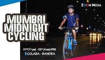 Mumbai Midnight Cycling